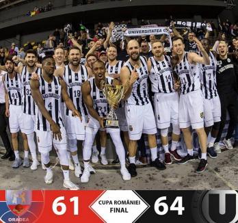 CSM CSU Oradea a pierdut, după un final dramatic, finala Cupei României