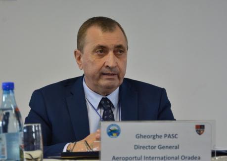 E oficial: 'Dinozaurul' Gheorghe Paşc va conduce Aeroportul Oradea şi de acum încolo. Adjunct îi va fi ex-directorul Aeroportului Arad