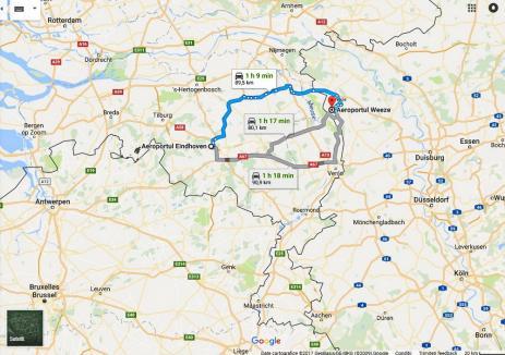 Zborurile Oradea-Eindhoven, anulate înainte de a porni. Ryanair le înlocuieşte cu Oradea-Dusseldorf
