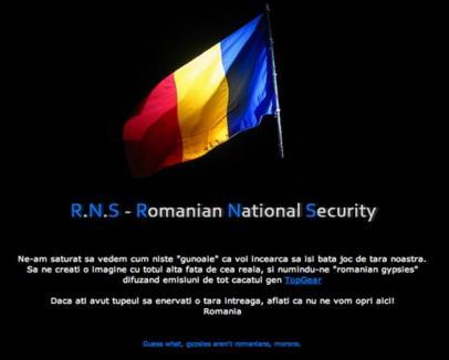 Hackerii români dau lecţii de patriotism