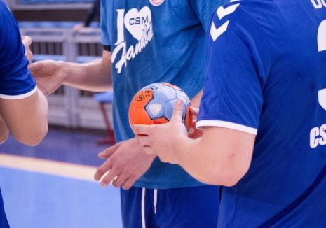 Handbaliştii de la CSM Oradea abordează cu încredere derby-ul campionatului, de duminică