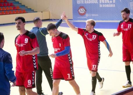 CSM Oradea susţine ultimul joc pe teren propriu din acest sezon