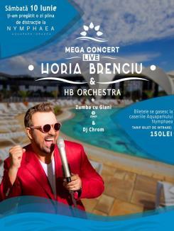 Nymphaea Aquafest: Concert Horia Brenciu în Aquaparkul Oradea! (VIDEO)