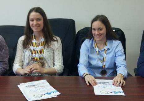 Orădencele Huszár Ingrid şi Ioana Buzlea şi-au adjudecat 20 de medalii la Campionatele Naţionale de poliatlon