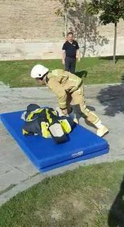Militarii bihoreni, vicecampioni la concursul 'Cel mai puternic pompier' (FOTO)