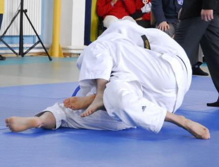 Tinerii judoka de la CSŞ LPS Bihorul JC Liberty au ocupat locul V la Campionatul Naţional de seniori pentru echipe