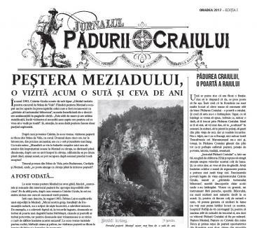 'Jurnalul Pădurii Craiului', primul ziar al turismului bihorean
