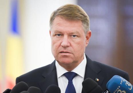 Preşedintele Klaus Iohannis: Dacă şi acest guvern ar cădea, va trebui să îmi pun întrebarea dacă PSD mai poate guverna