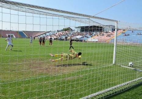 Luceafărul a primit gol în minutul 90 şi a pierdut cu 0-1 jocul cu Dunărea Călăraşi