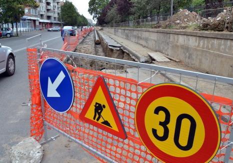 Locuitorii de pe 30 de străzi din Oradea rămân până vineri fără apă caldă. Vezi dacă ești printre ei!