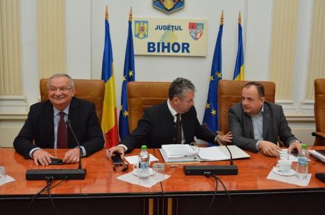 Dispută în plen. Consiliul Judeţean va plăti un avocat în procesul cu PNL. Ionel Avrigeanu: 'Cheltuiţi bani publici să vă apăraţi scaunele' (VIDEO)