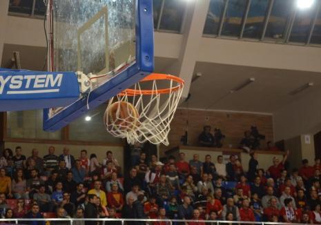 Baschetbalistele de la Universitatea CSM Oradea au suferit primul eşec din actuala ediţie de campionat