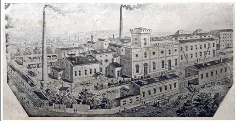 Oradea ieri, Oradea azi: Fabrica de spirt, de lapte și moara cu aburi (FOTO)