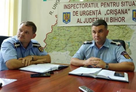 Au de lucru! Pompierii ISU Crişana, peste 7.300 de intervenţii în primele opt luni ale anului