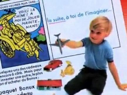 Detergentul promovat de Nicolas Sarkozy