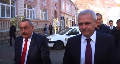 Lider PSD, către un protestatar care îl huiduia pe Dragnea: 'Dă-te dracu'' (VIDEO)