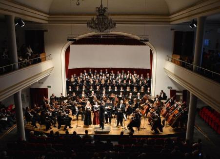 Concert vocal-simfonic cu lucrări de Bach, la Filarmonică