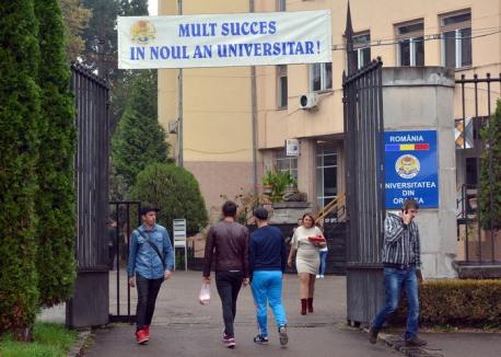 Mai mulţi doctoranzi şi mai multe burse pentru ei, la Universitatea din Oradea