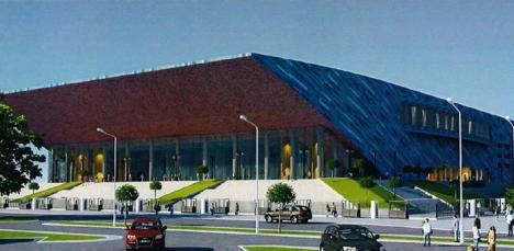Sala Polivalentă din Oradea va fi ridicată de firma Construcţii Erbaşu, cu 60 milioane lei