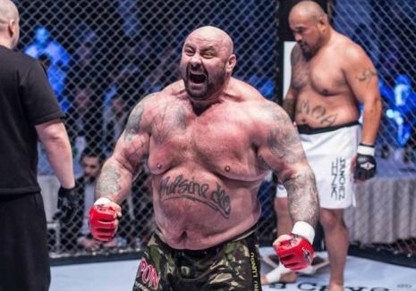Sandu Lungu, din nou în cuşca MMA! Luptă diseară cu un ceh, în RFX Fight Night