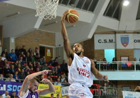 CSM CSU Oradea a cedat cu 63-69 primul meci cu BC CSU Sibiu, din finala mică a Ligii Naţionale
