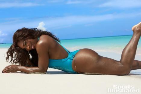 Serena Williams s-a dezbrăcat pentru un pictorial în Sports Illustrated (FOTO)