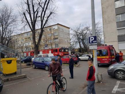 Un orădean care a amenințat că-și dă foc în apartament a fost calmat de polițiști