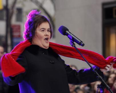 Susan Boyle, gospodina cu voce de aur, a vândut 150.000 de albume pe zi