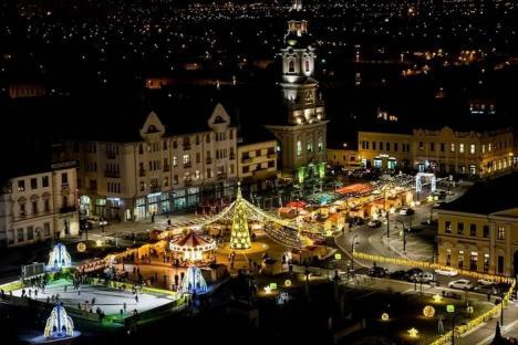 Se apropie Târgul de Crăciun. Primăria Oradea organizează licitaţii pentru comercianţi