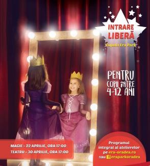 ERA Park Oradea dă startul unui nou proiect pentru copii: ateliere de magie şi de teatru!