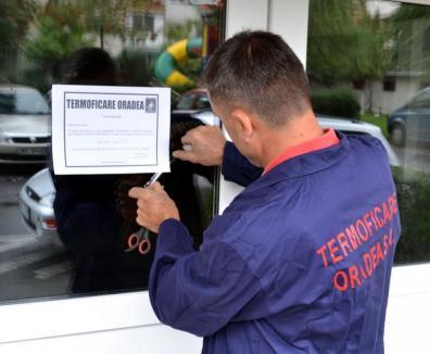 Furnizarea agentului termic, întreruptă în zece puncte termice din Oradea