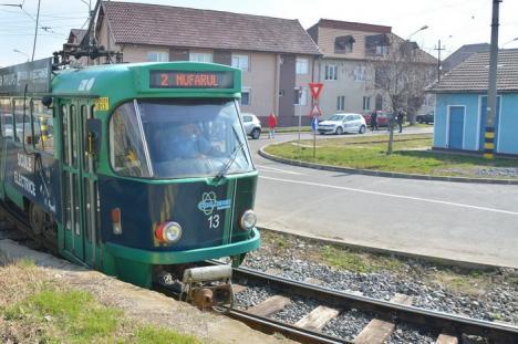 Circulaţia tramvaielor, reluată cu o zi mai repede