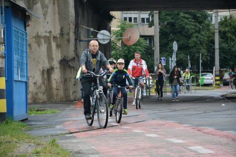Zilele Sfântului Ladislau au debutat cu o tură pe biciclete din Oradea până în Biharkeresztes (FOTO/VIDEO)
