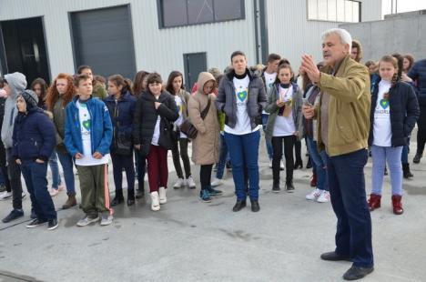Lecţii de reciclare, pentru sătenii din Bihor (FOTO)
