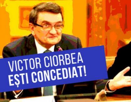 'Victor Ciorbea, eşti concediat!' Primii doi orădeni au cerut demisia Avocatului Poporului