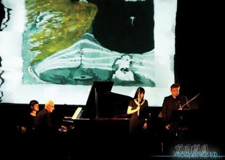 Zona Imaginarium: Concert-instalaţie la Filarmonica din Oradea