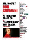 """Un spectacol-eveniment în sala Filarmonicii: """"Don Giovanni"""", de W. A. Mozzart"""