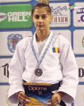 Larisa Florian a cucerit argintul la Openul European de Judo pentru seniori de la Minsk