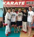 Sportivii de la CS Shogunul Oradea au primit lecţii de la Stanislav Horuna, unul dintre cei mai titraţi karateka!