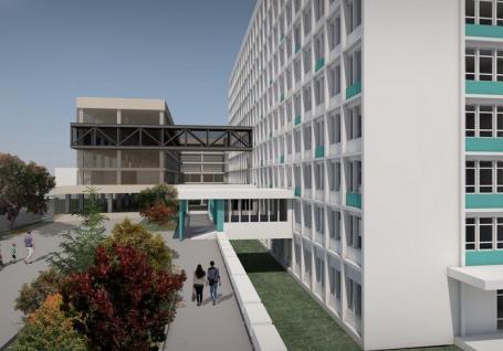 Bolojan anunţă un proiect de 10 milioane euro: extinderea Spitalului Municipal cu o clădire pe 6 niveluri, doar pentru copii (FOTO)