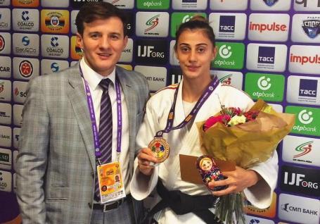 Larisa Florian a cucerit bronzul la Mastersul de Judo de la St. Petersburg, din Rusia!