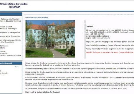 Restanţieri la informatică: Site-ul Universităţii din Oradea nu 'rezistă' la note