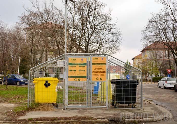 ŢARCURI ECO. În anul 2015, RER Ecologic Service a pornit o investiţie de peste 440.000 euro pentru dotarea incintelor ce adăpostesc pubelele şi containerele cu sisteme automate de închidere, alimentate cu energie solară