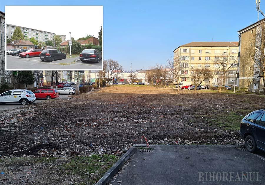 """LA PĂMÂNT. Orădenii din strada Episcop Nicolae Popovici au renunţat la procesul prin care se opuneau exproprierilor, după ce Primăria le-a pus imobilele la pământ, fără să mai aştepte sentinţa Tribunalului. """"Ce să ne mai judecăm? În martie s-a discutat în Consiliul Local, în iulie-august ne-au despăgubit, iar în noiembrie totul era deja demolat. Primăria s-a grăbit aşa tare încât cred că ne-ar fi dărâmat casele şi cu noi înăuntru"""", spune o fostă proprietară"""