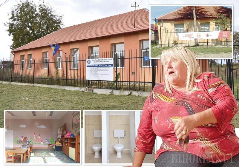 """TOVARĂŞA PROFESOARĂ. Soarta grădiniţelor din satele Zăvoiu, Ogeşti şi Rogoz este similară: în ultimii doi ani, toate trei au fost renovate şi dotate. Când lucrările au fost finalizate, însă, au fost închise, pentru că în niciun sat nu s-a adunat numărul minim de 10 preşcolari, necesar pentru înfiinţarea unei grupe. """"Profesoara"""" acestei lecţii de risipă este chiar primăriţa PSD a comunei, Mariana Laza (foto), deşi ştia foarte bine câţi copii are în comună. Iar ca lecţia să fie completă, Laza refuză să dea orice explicaţie, singura """"declaraţie"""" rămânând bannerele electorale cu Viorica Dăncilă plasate pe aceste """"realizări măreţe"""""""
