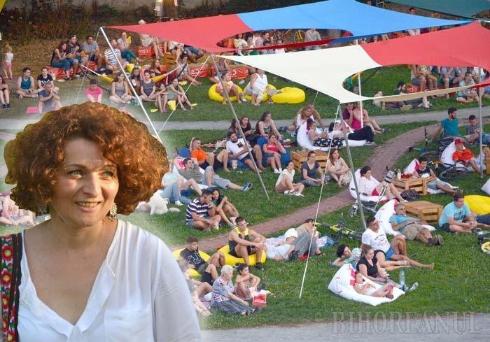 """ÎN PREMIERĂ ACASĂ. Documentarul """"Doar o răsuflare"""" realizat de Monica Lăzurean a deschis vinerea trecută festivalul Oradea Summer Film, autoarea fiind recompensată de concitadini cu aplauze"""