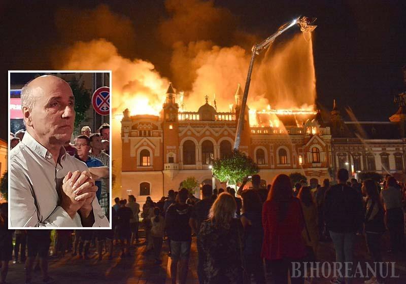 LA RĂSCRUCE. Incendiul care în seara de 25 august a distrus o mare parte a Palatului Episcopiei Greco-Catolice a întristat mulţi orădeni, dar pentru PS Virgil Bercea a fost de-a dreptul o răscruce de viaţă. După drama la care a asistat rugându-se tăcut, ierarhul până atunci mereu blajin şi jovial parcă s-a închis în sine. În acea noapte s-a şi îmbolnăvit atât de grav încât pe patul de spital a ajuns să se gândească la rânduiala propriei înmormântări, iar apropiaţii i-au chemat rudele
