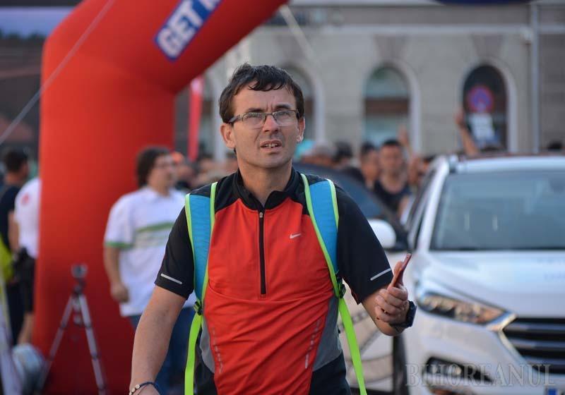 Alergător pentru Oradea: Fost atlet de performanţă, József Deme îi provoacă pe orădeni să facă mişcare