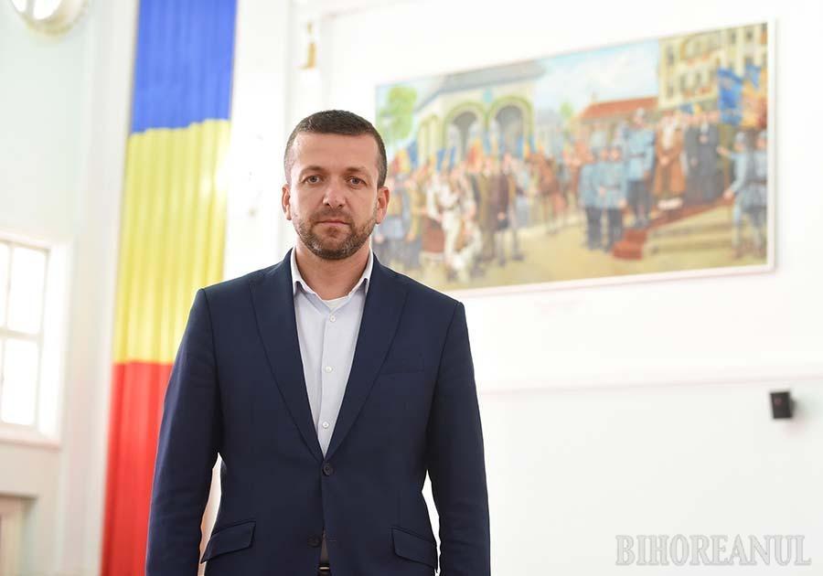 Florin Birta, noul primar al Oradiei: Ştiu cum gândeşte Ilie Bolojan şi ştiu ce trebuie făcut