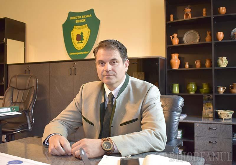 Noul șef al Direcţiei Silvice, Teodor Suciu: Simţul civic lasă de dorit. Nu tolerez furtul